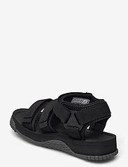 Shaka - Neo Bungy - platta sandaler - black/charcoal - 2