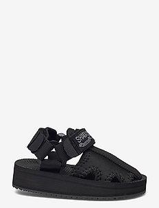 ROCKY STRETCH LITTLE - sandaler - black