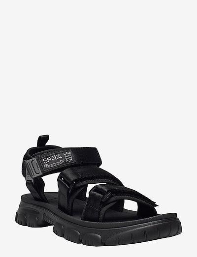 Neo Bungy At - platta sandaler - black