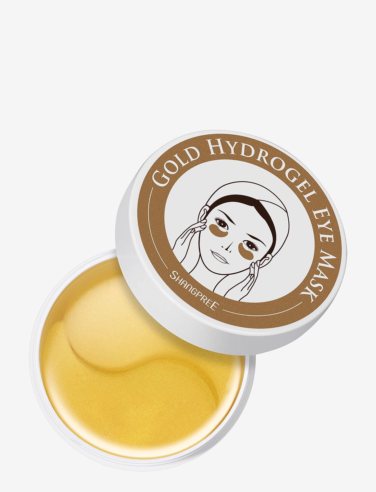 Shangpree - Hydrogel Eye Mask Gold 60 pcs - kasvonaamiot - clear - 0