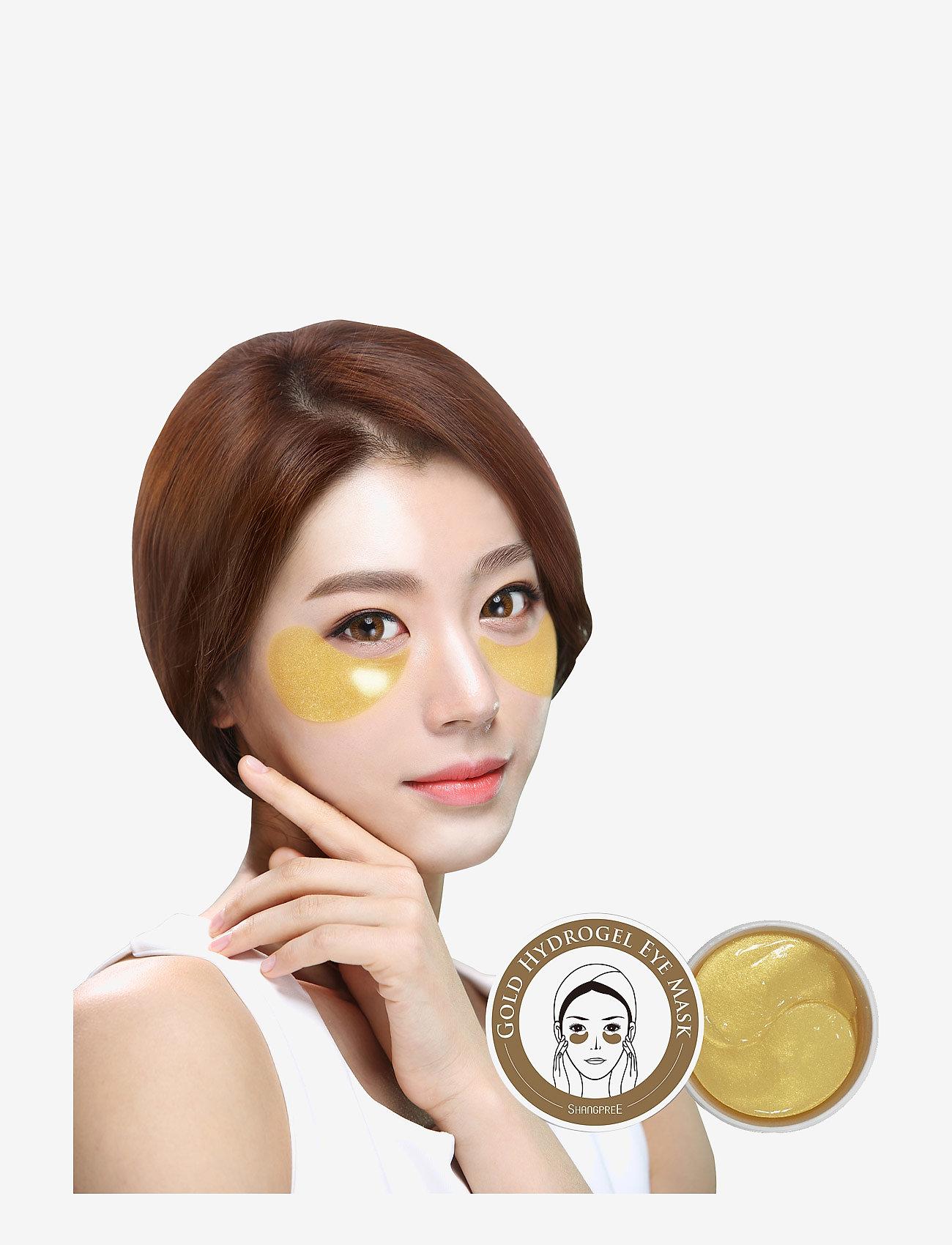 Shangpree - Hydrogel Eye Mask Gold 60 pcs - kasvonaamiot - clear - 1
