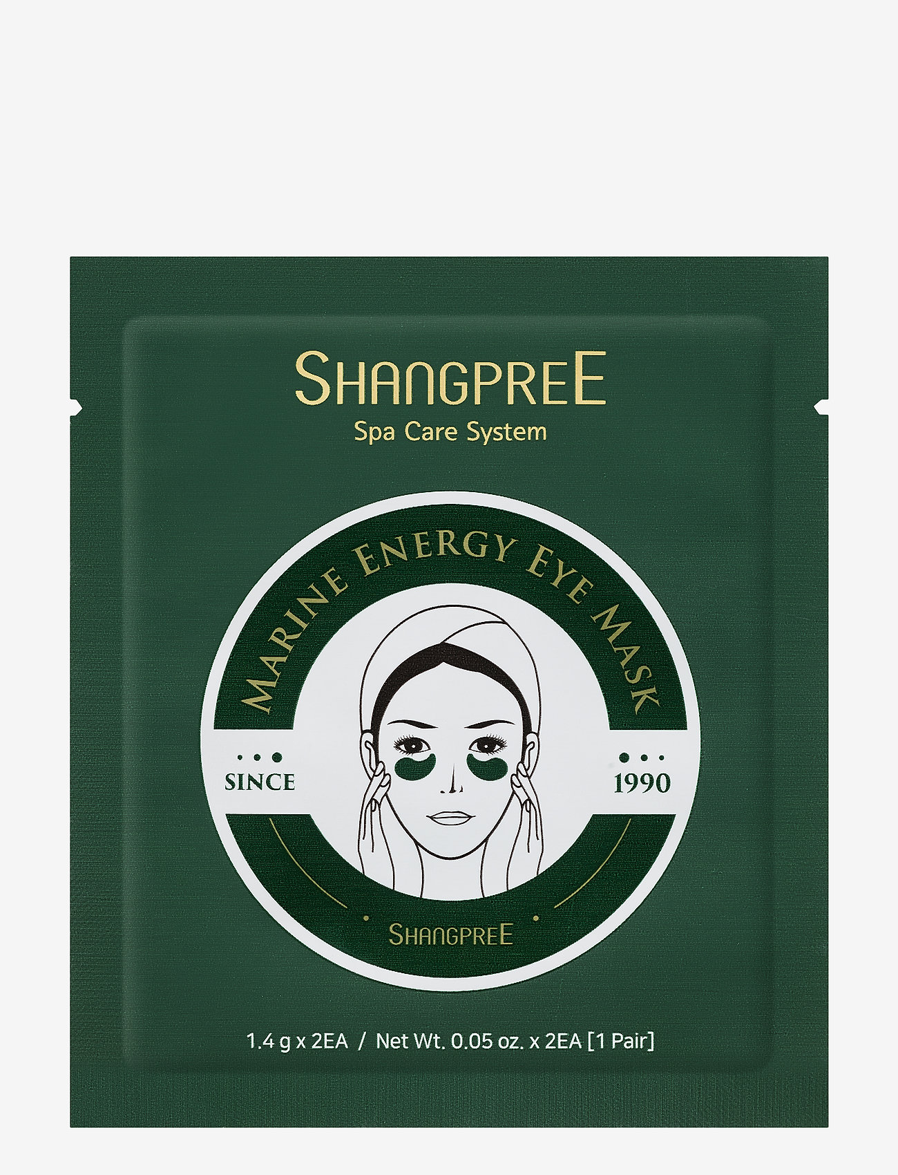 Shangpree - Hydrogel Eye Mask Marine Energy 1 set - kasvonaamiot - clear - 0