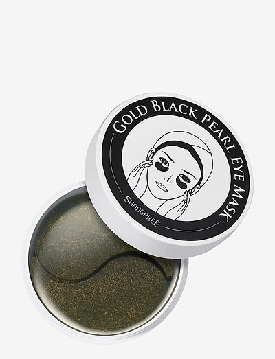Hydrogel Eye Mask Gold Black Pearl 60 pcs - ansigtsmasker - clear