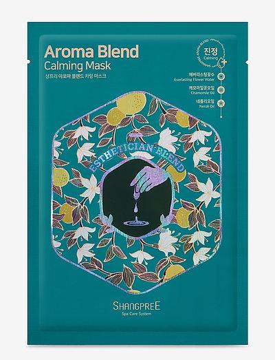 Aroma Blend Calming Mask - ansiktsmasker - no color
