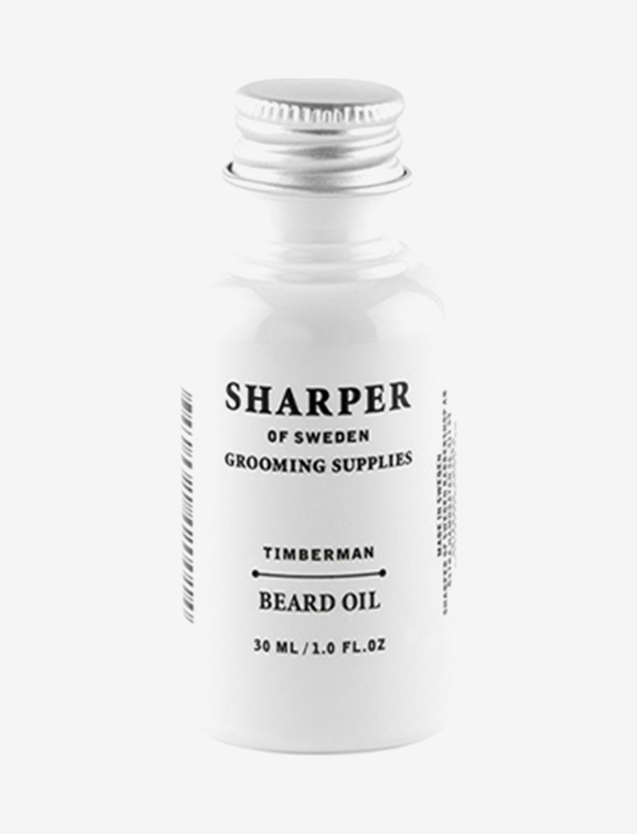 Sharper Grooming - Sharper Beard Oil Timberman - skægolie - clear - 0
