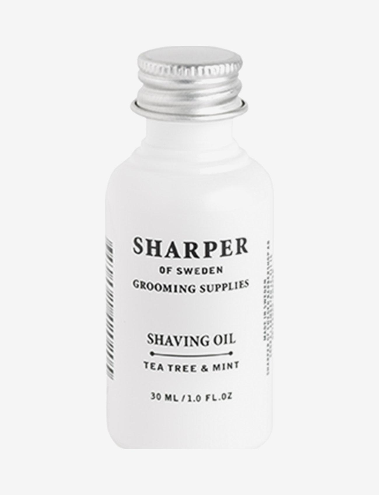 Sharper Grooming - Sharper Shaving Oil - skægolie - clear - 0