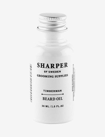Sharper Beard Oil Timberman - skäggolja - clear