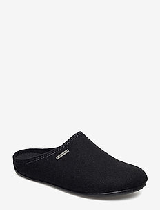 Jon - slippers - black
