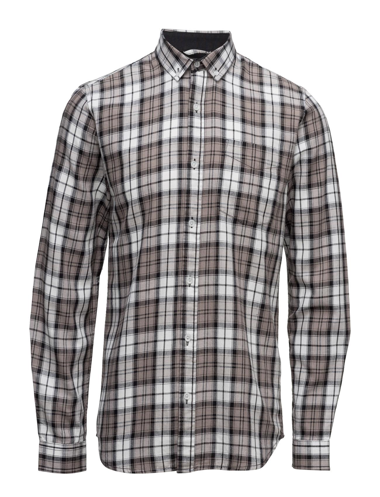 Shine Original Checked cotton shirtL/S