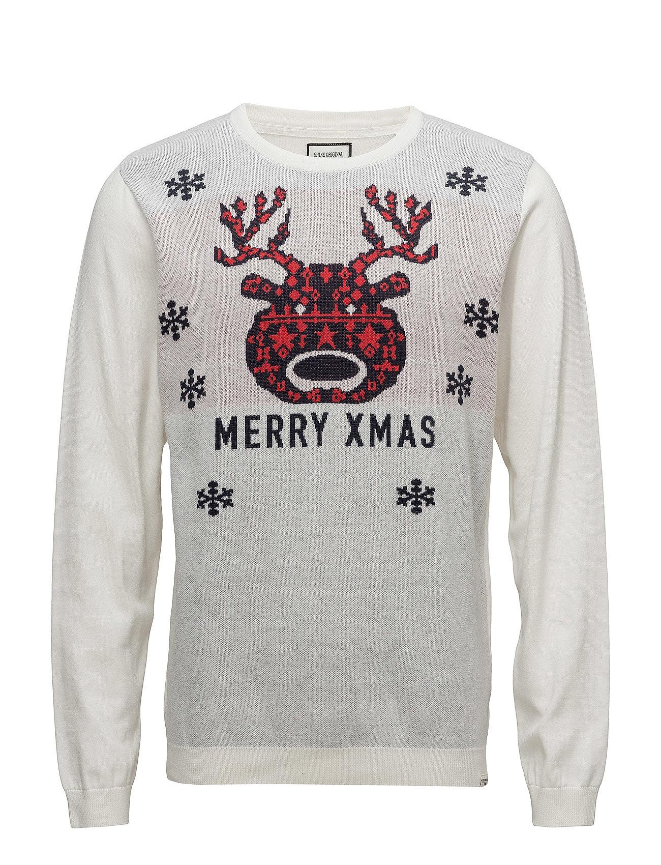 Shine Original Jacquard merry xmas knit