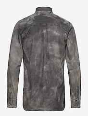 Shine Original - Denim shirt L/S - chemises shirts - black - 1