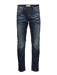 Tapered fit jeans, juicy blue - JUICY BLUE