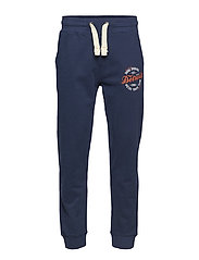 Motor track printed sweat pant - NAVY