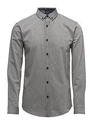 Twill shirt L/S - GREY
