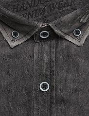 Shine Original - Denim shirt L/S - chemises shirts - black - 2