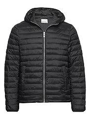 Light puffer jacket - BLACK
