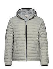 Light puffer jacket - LT GREY