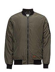 Jacketwithbaseballcollar - ARMY