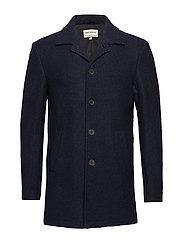Wool coat - NAVY
