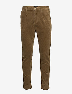 Cropped corduroy chino - SAND