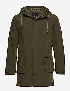 Parka with hood - ARMY