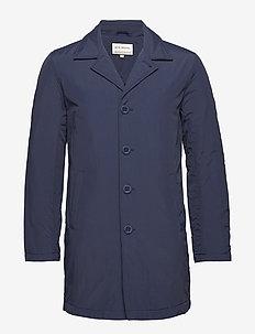 Cleo mac coat - trenchcoats - navy