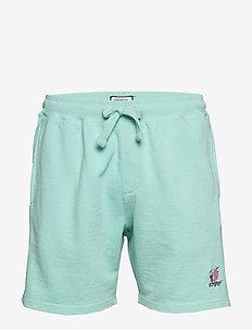 Faded sweat shorts - casual shorts - lt green