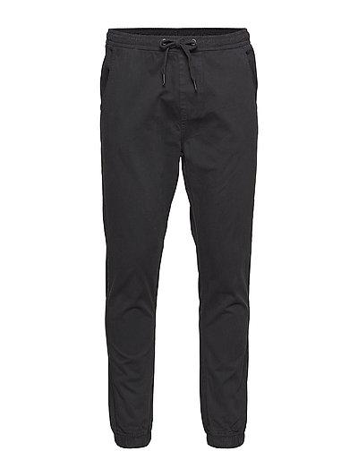 Drop crotch pants - DUSTY BLACK