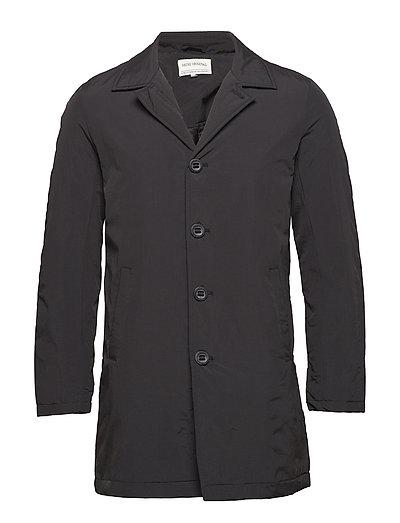 Cleo mac coat - DUSTY BLACK
