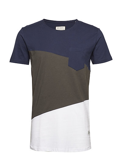 Cut and sew tee S/S - NAVY MIX