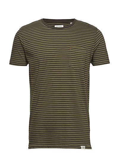 Striped tee S/S - ARMY