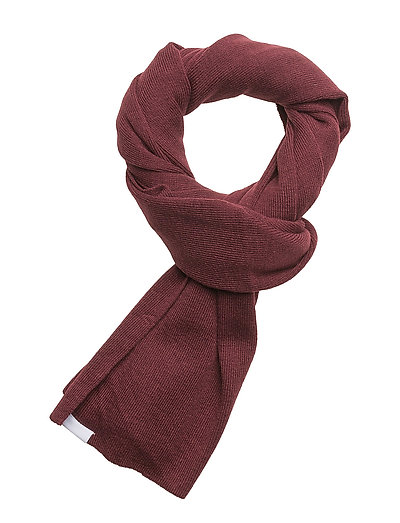 Knit scarf - BORDEAUX