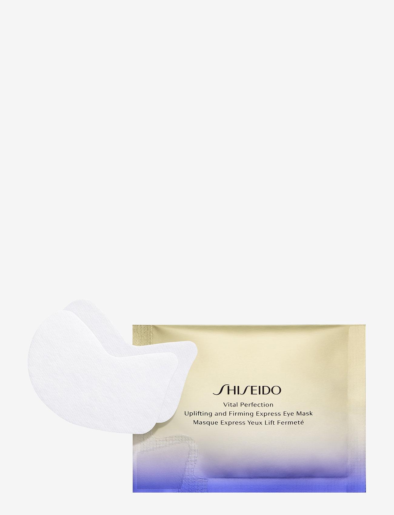 Shiseido - VITAL PERFECTION UPLIFTING& FIRMING EXPRESS EYE MASK (12) - sheet mask - no color - 0