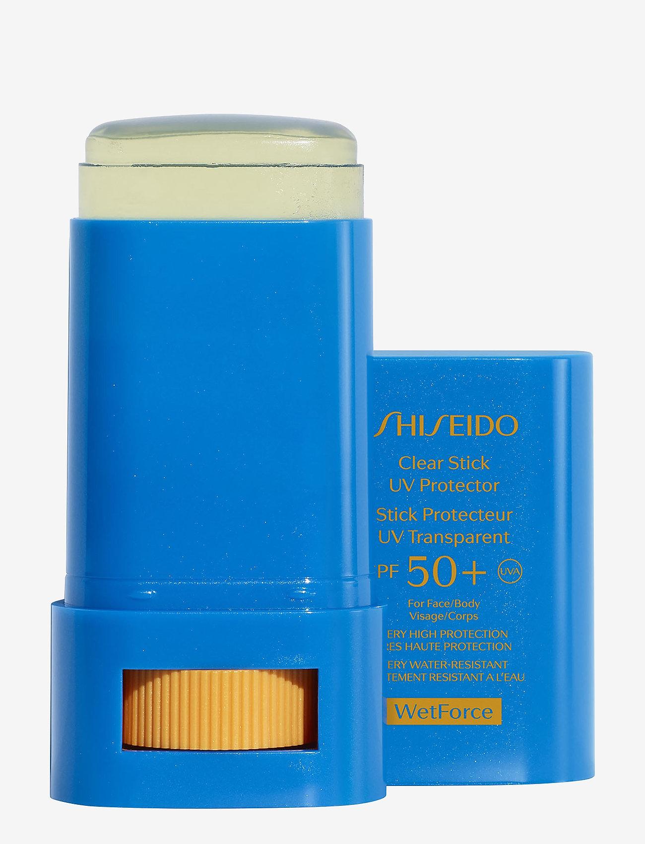 Shiseido - SUN CLEAR STICK SPF50 - kropp - no color - 1