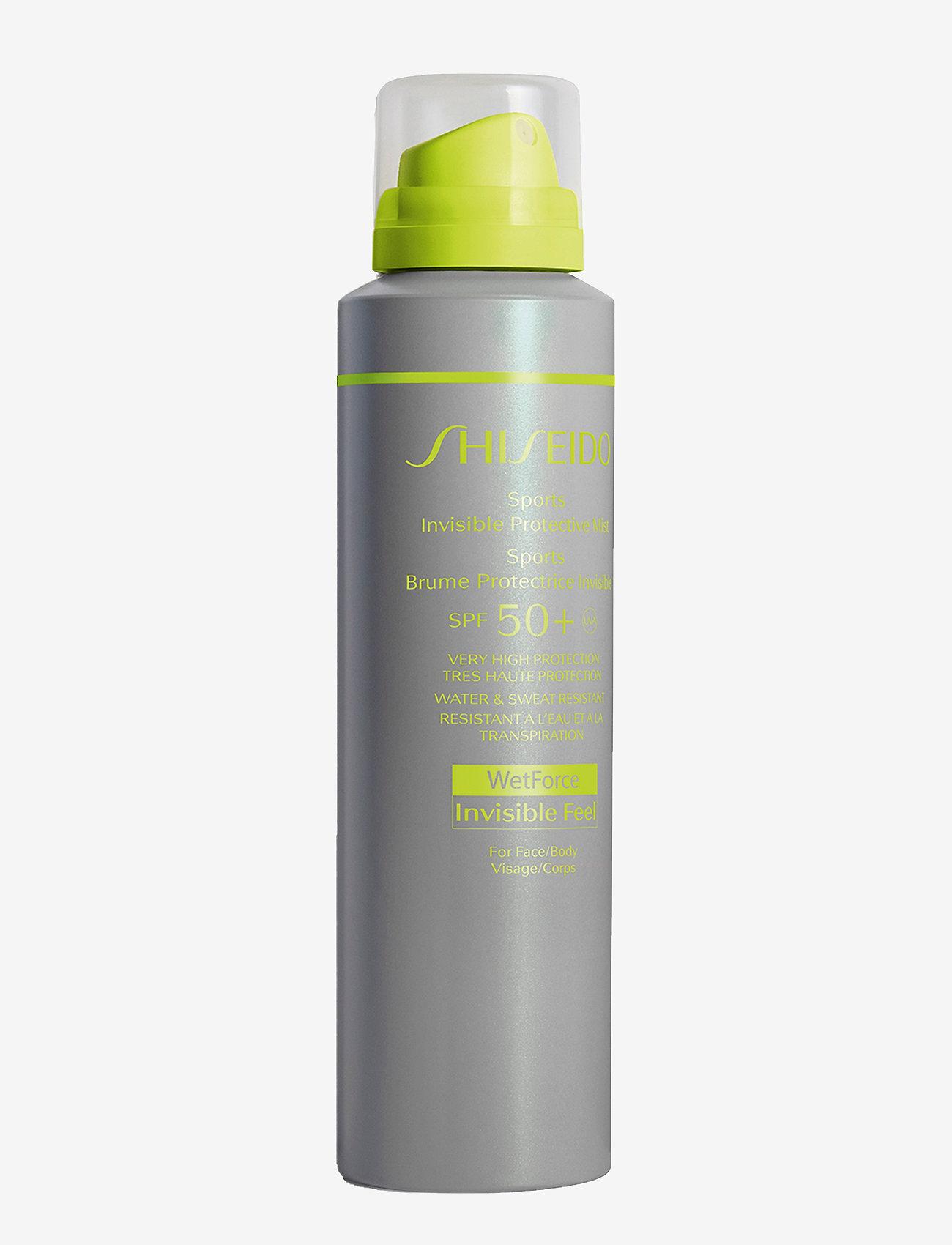 Shiseido - SUN PROTECTIVE MIST SPF50 - kropp - no color - 0