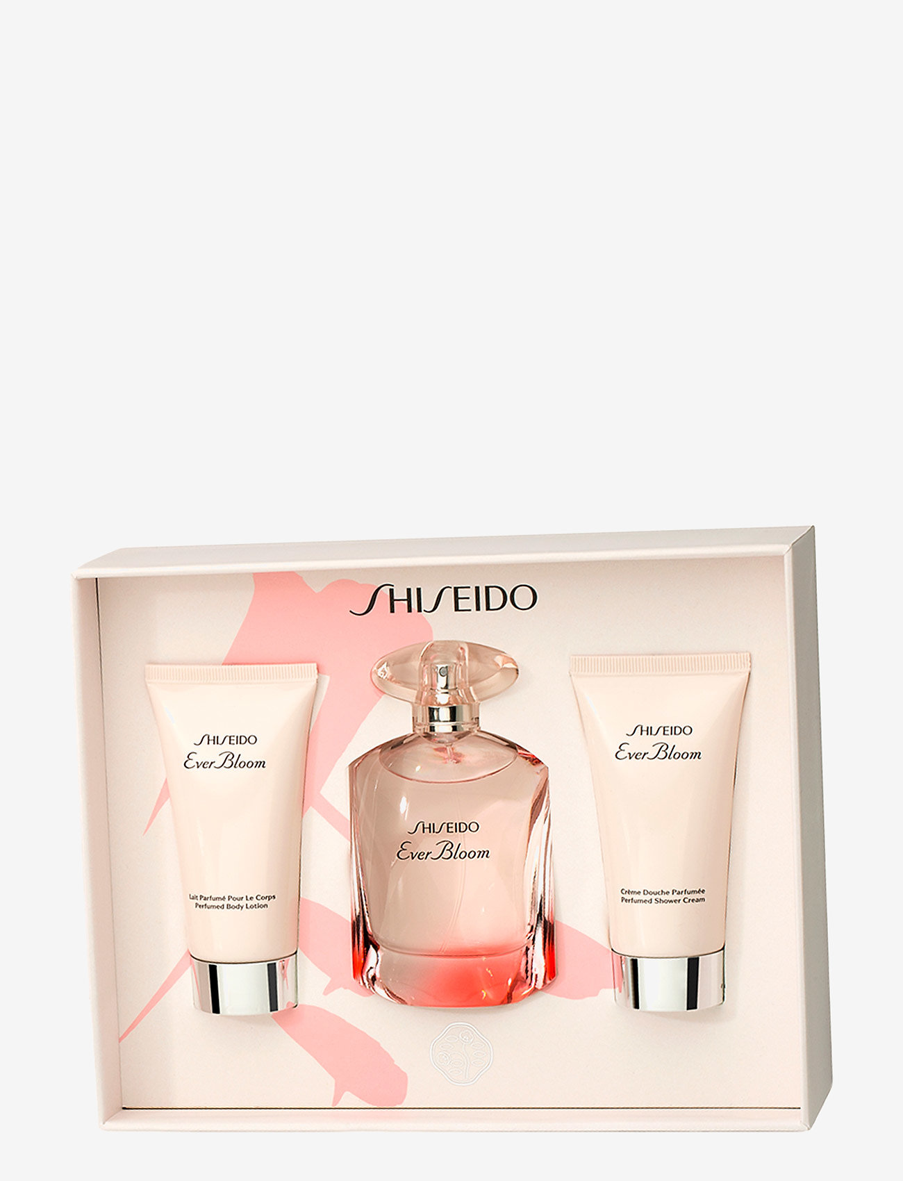 Shiseido - EVER BLOOM EDP 50/BODY LOTION 50/SHOWER CREAM 50ML - tuoksusetit - no color - 1