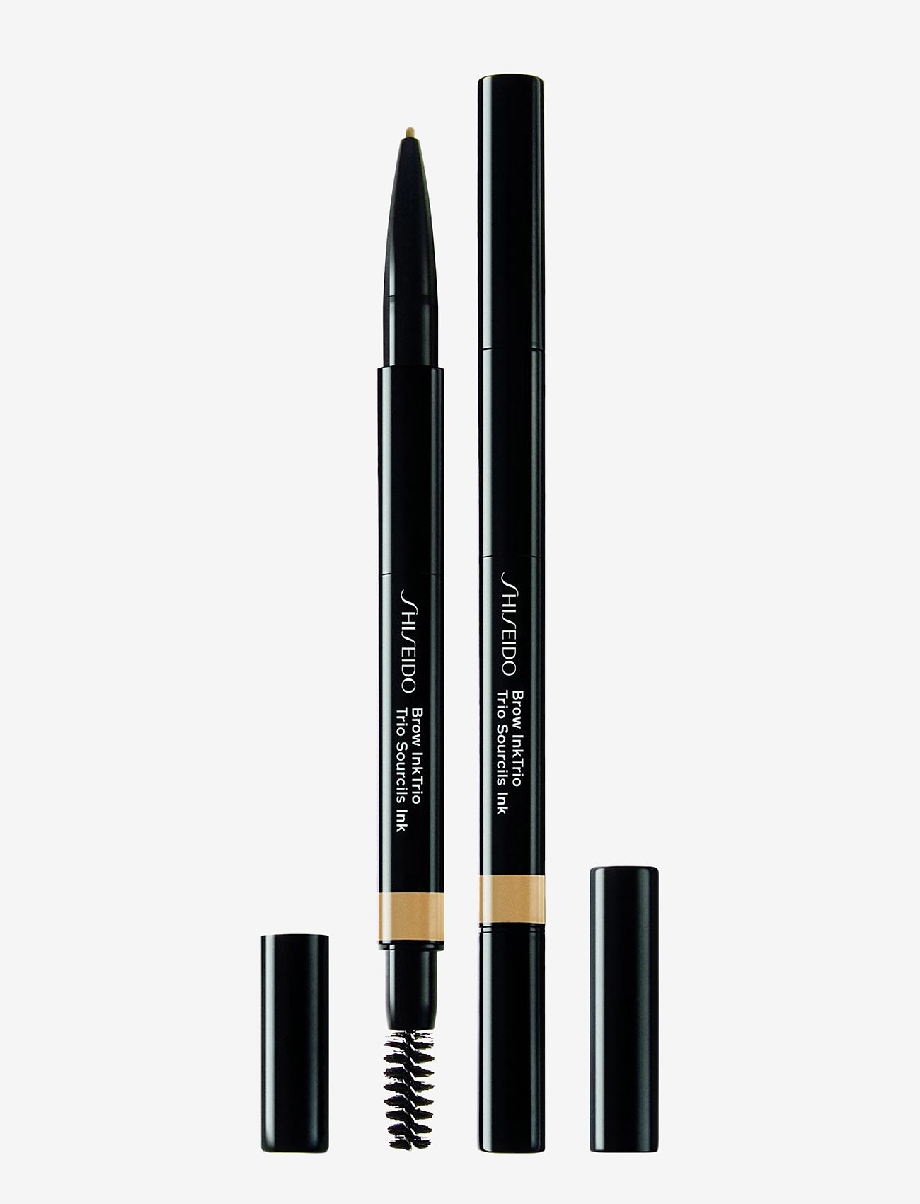 Shiseido - BROWTRIO INK 01 BLONDE - Øjenbrynsblyant - 01 blonde - 0