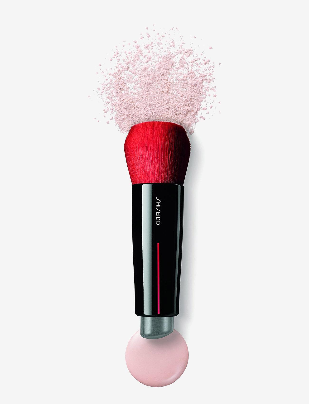 Shiseido - BRUSHES DAIYA FUDE FACE DUO BRUSH - pensler til ansigtet - no color - 1