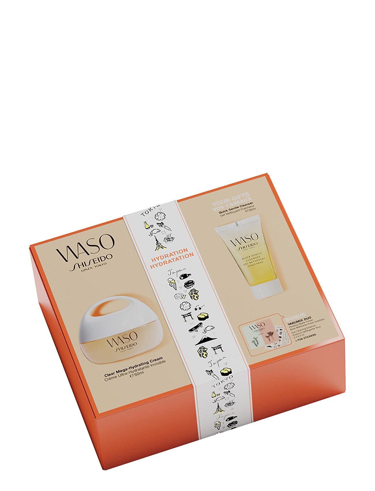 Shiseido WASO MEGA HYD CREAM 50ML/QG CLEA 30ML - NO COLOR