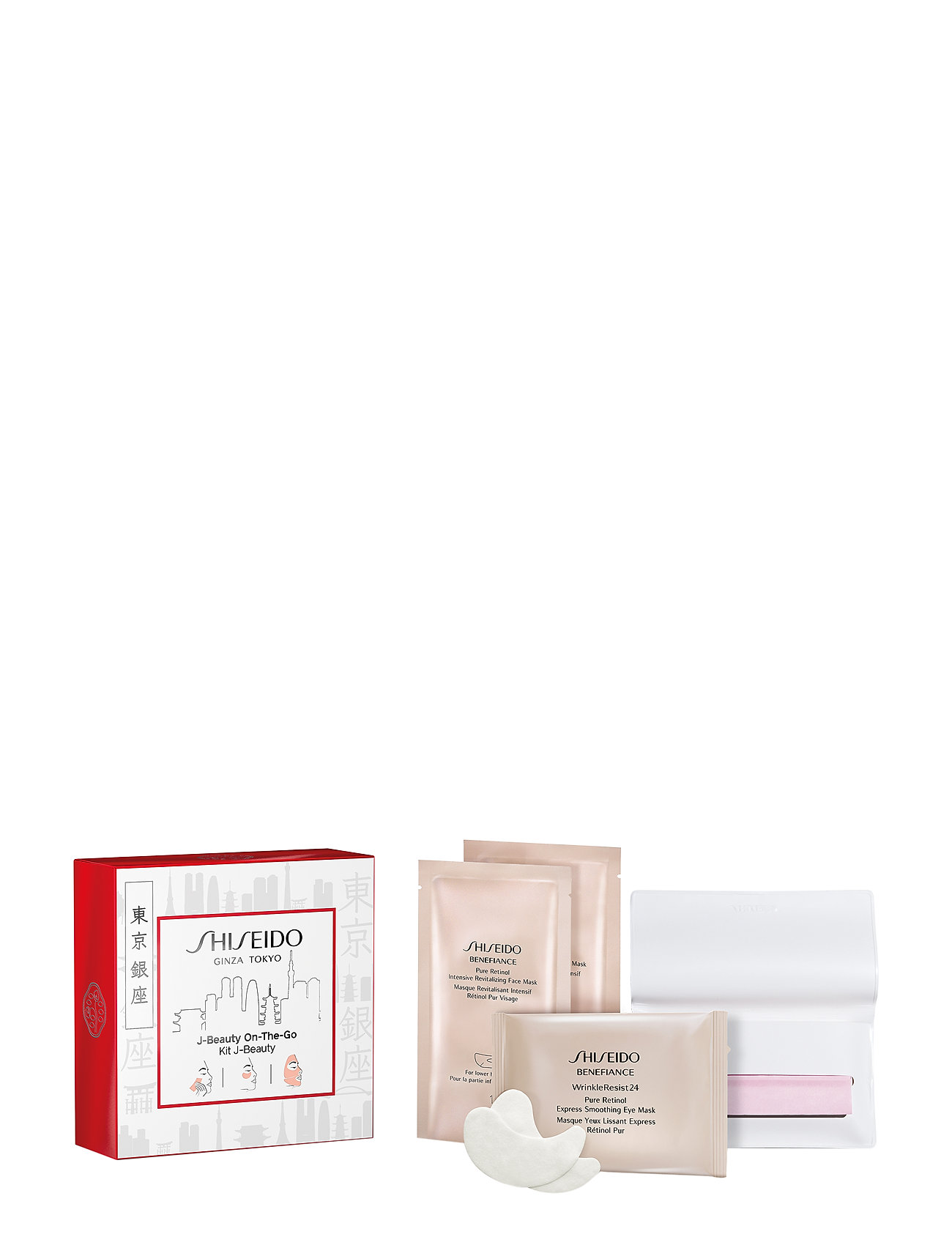 Shiseido GENERIC SKINCARE BLOT P 100/EXPR EY MASK/REV FACE MASK
