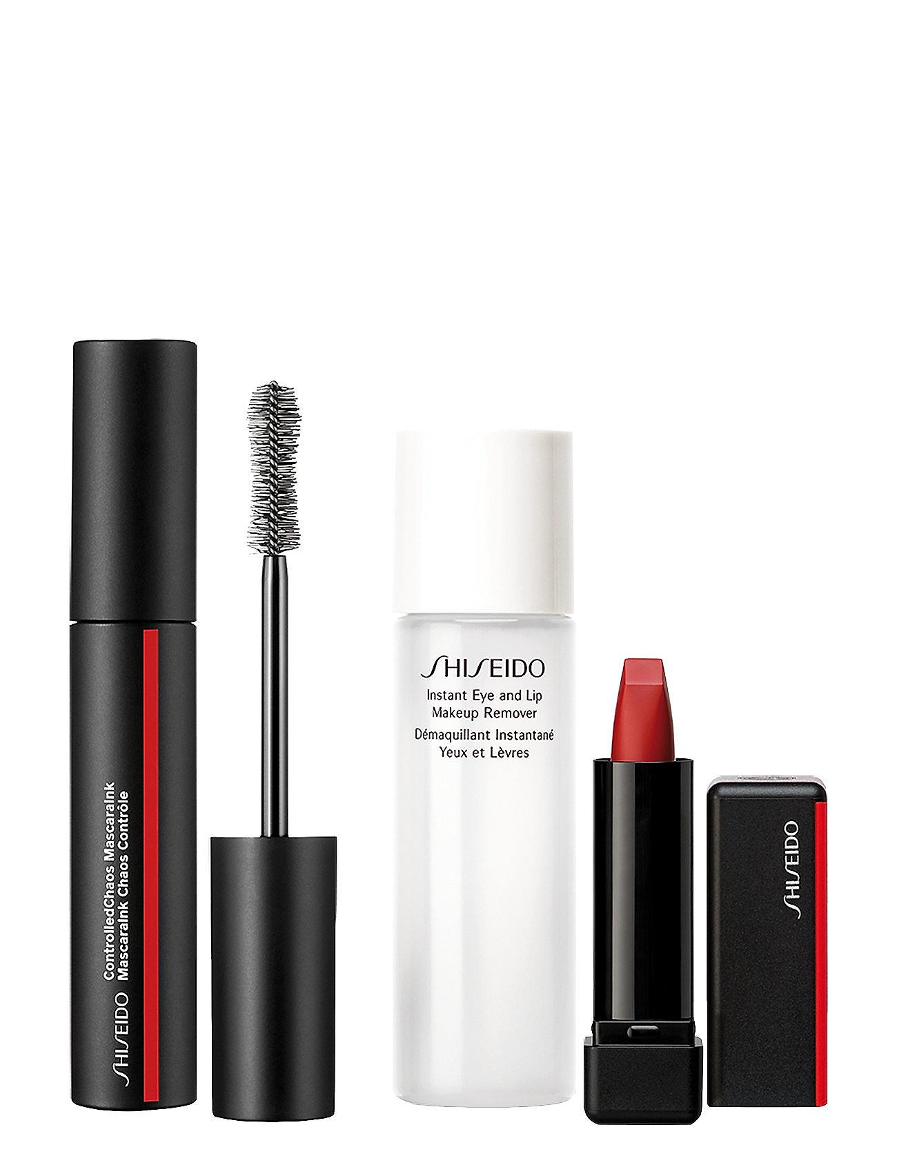 Shiseido MASCARA INK CHAOS SET - NO COLOR