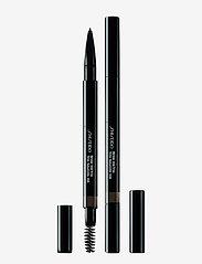 Shiseido - BROWTRIO INK 03 DEEP BROWN - Øjenbrynsblyant - 03 deep brown - 0
