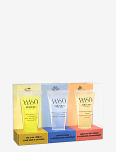 WASO CLEANSER 30/JELLY LOTION 30/HYD CREAM 30ML - NO COLOR