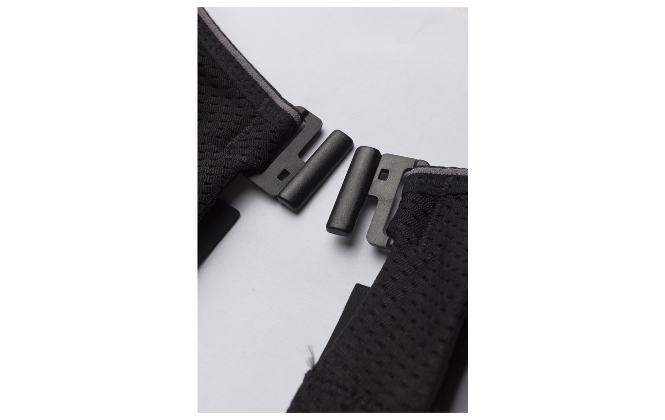 Elastane Bra Absorber Ultimate Polyester Run 10 81 9 Black Shock Polyamide qOAaxwvq