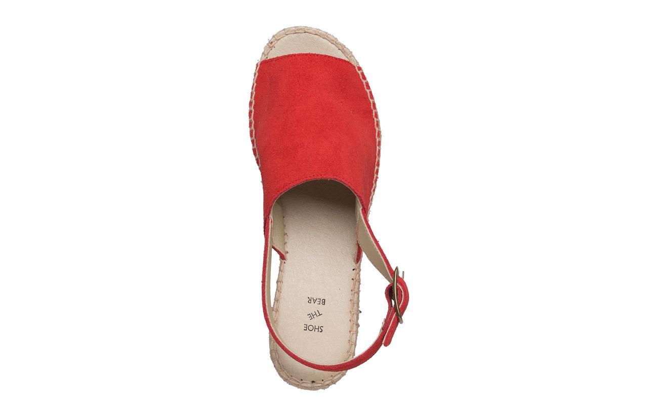 Empeigne Extérieure Bear Shoe Caoutchouc Supérieure Cuir Alice Red The Semelle Doublure Intérieure IaqxZq4fw