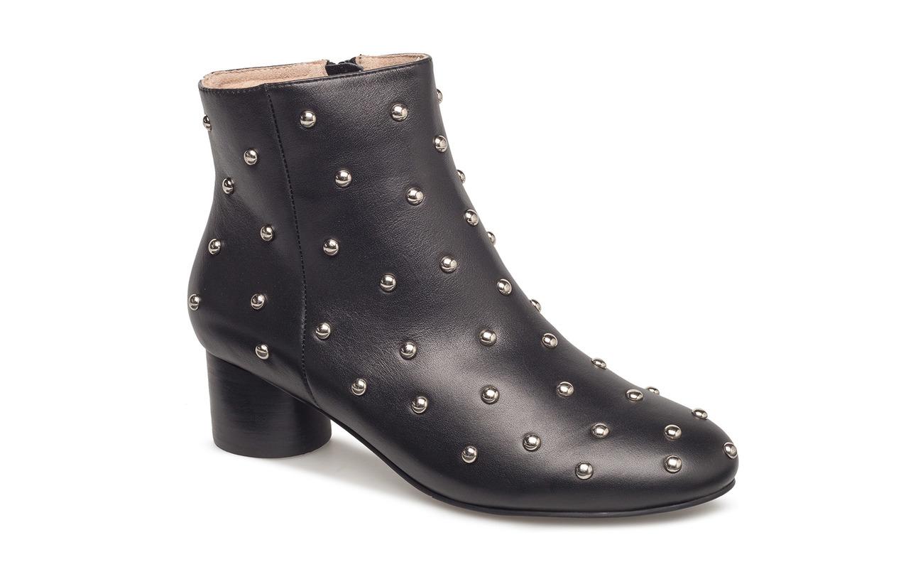 Intérieure Empeigne Extérieure Bear Cuir Detailing Caoutchouc Shoe Studs Supérieure Black The Détails Semelle Doublure Aya wqP44vX5p