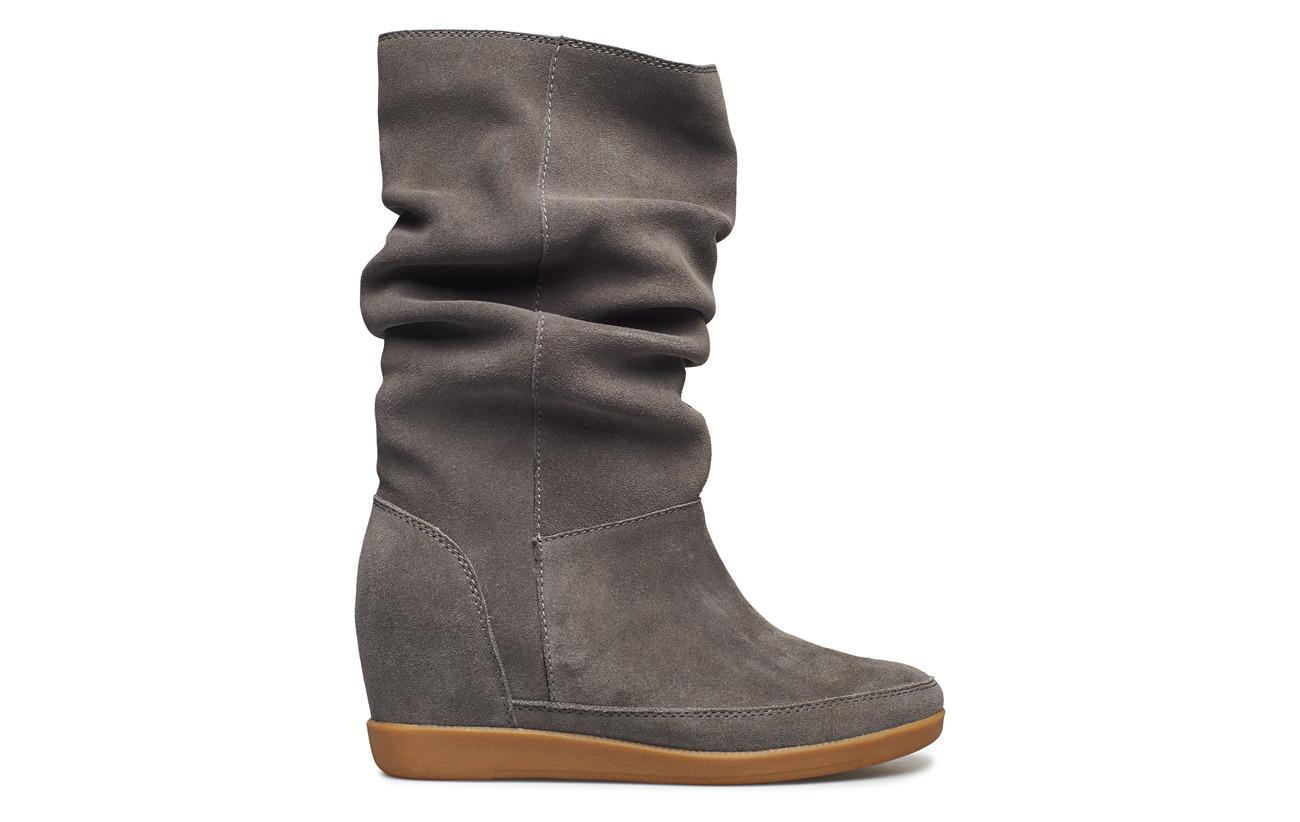 Empeigne 100 Slouchy Doublure Supérieure Grey Intérieure Dark Semelle Polyester Extérieure Shoe Bear Emmy Caoutchouc The Daim xwHYH0
