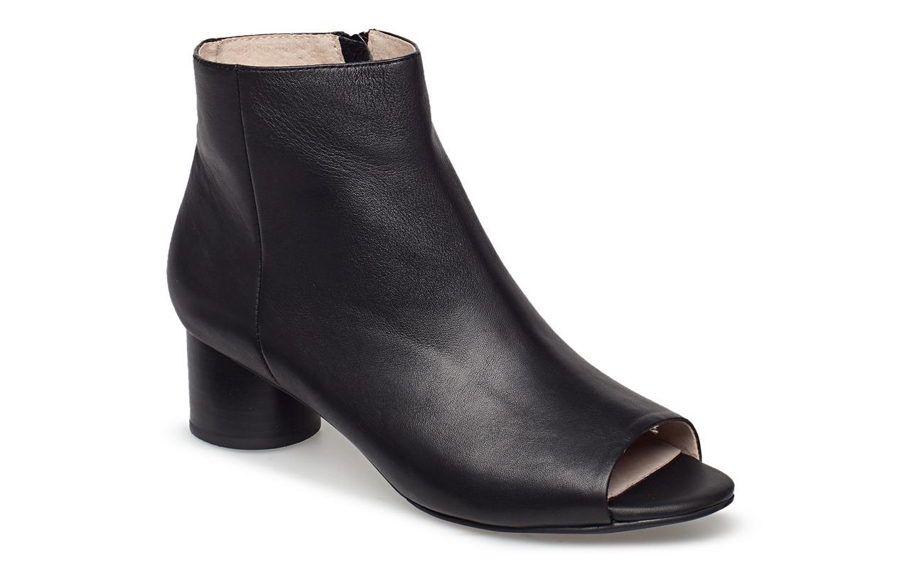Shoe The Bear AYA PEEP TOE L - BLACK