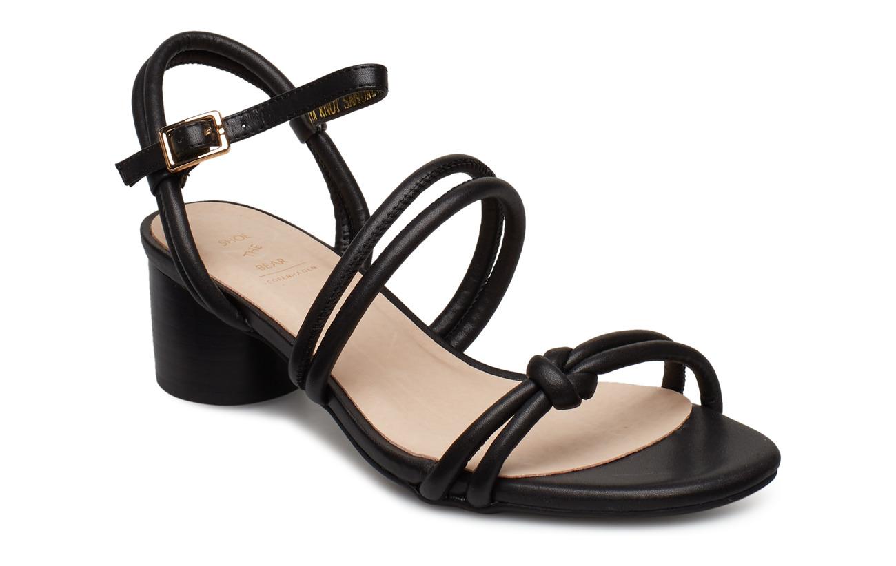 Shoe The Bear AYA KNOT SANDAL - BLACK