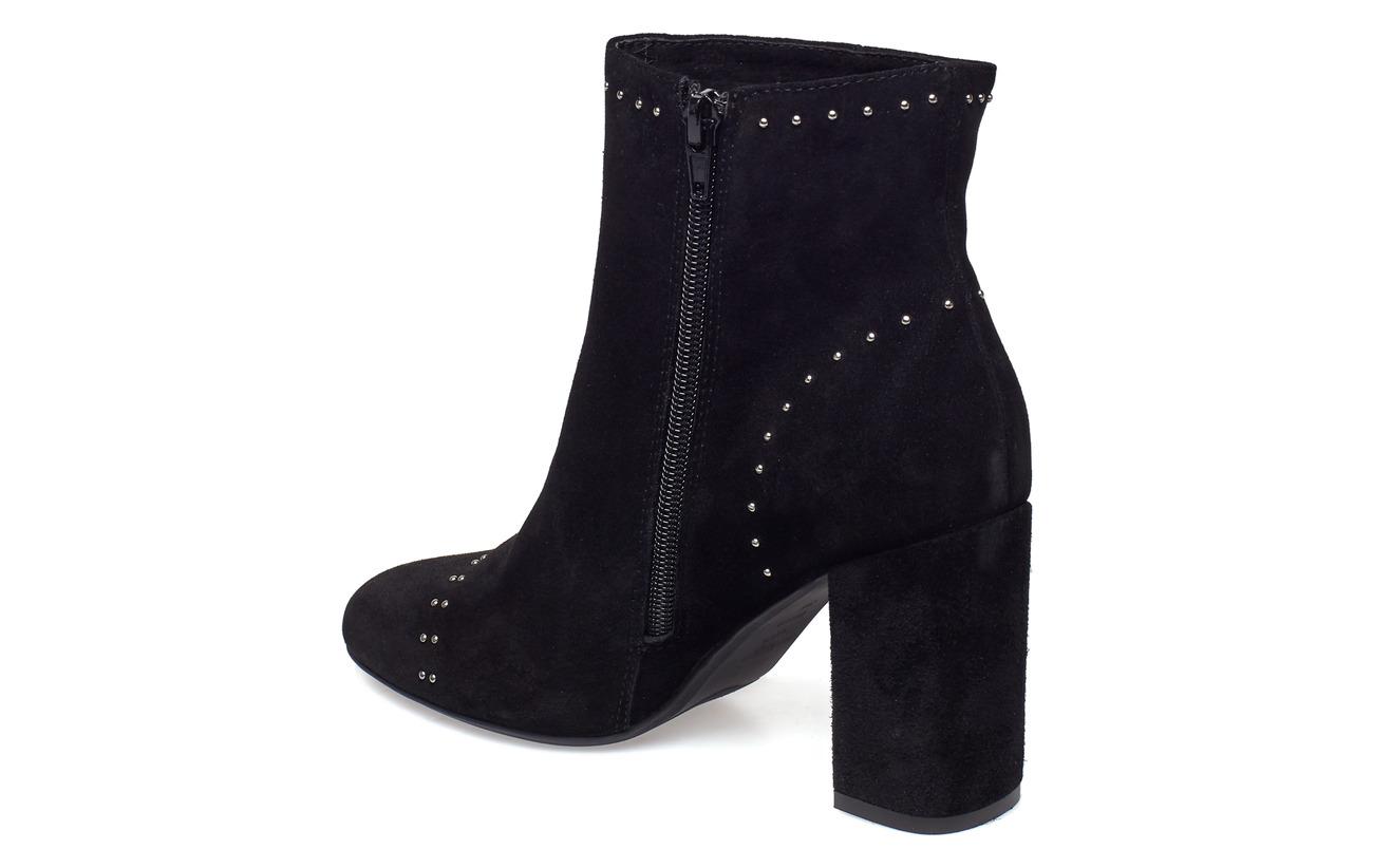 Black Shoe Intercalaire Intérieure Doublure 100 Supérieure Caoutchouc Studs Empeigne Covered Extérieure S The Heel Cuir Daim Bear Détails Semelle Maddie 1wxZX14qr